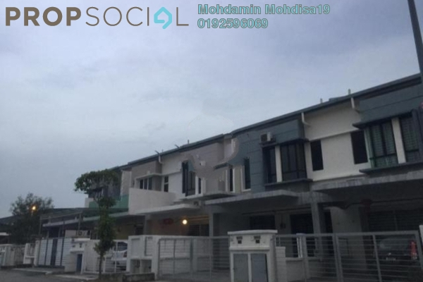 For Rent Terrace at Taman Putra Impiana, Puchong Leasehold Semi Furnished 4R/3B 1.4k