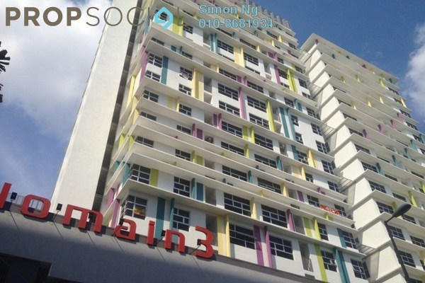 For Rent Condominium at The Domain, Cyberjaya Freehold Fully Furnished 1R/1B 1.5k