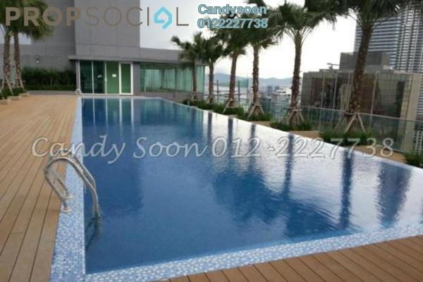 For Sale Condominium at Vipod Suites, KLCC Freehold Fully Furnished 3R/2B 1.69m