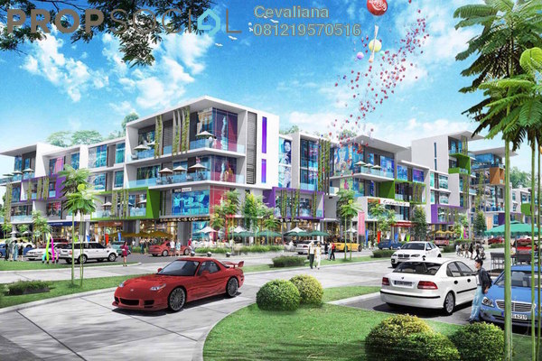 For Sale Apartment at Gala City, Kuching Freehold Fully Furnished 1R/1B 774k