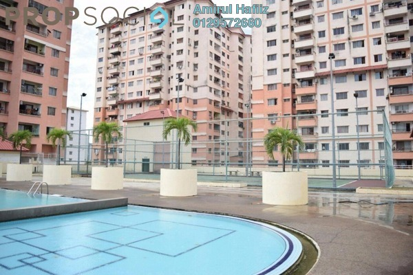 For Sale Apartment at Idaman Sutera, Setapak Freehold Unfurnished 3R/2B 338k