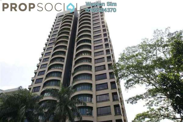For Rent Condominium at Regency Tower, Bukit Ceylon Freehold Semi Furnished 4R/4B 6k