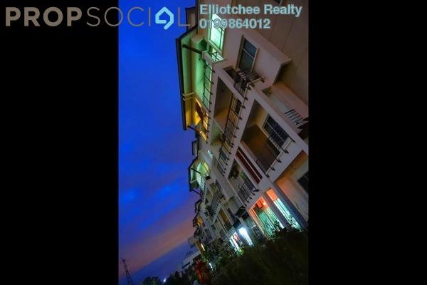For Sale Condominium at Bayan Villa, Seri Kembangan Freehold Semi Furnished 4R/2B 560k