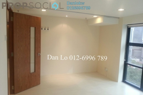 For Sale Office at Plaza 138, KLCC Freehold Semi Furnished 1R/1B 560k