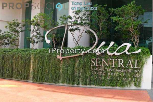 For Rent Condominium at Dua Sentral, Brickfields Freehold Fully Furnished 3R/2B 2.8k