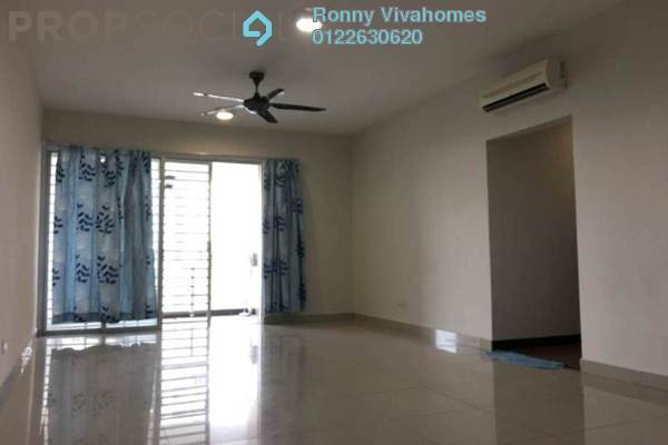 For Rent Condominium at Zen Residence, Puchong Leasehold Semi Furnished 4R/2B 1.7k