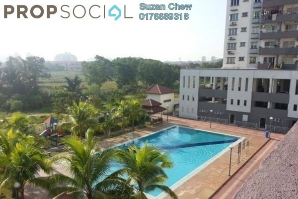 For Sale Condominium at Kinrara Mas, Bukit Jalil Freehold Semi Furnished 3R/2B 425k