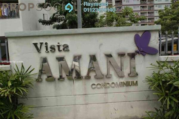 For Rent Condominium at Vista Amani, Bandar Sri Permaisuri Leasehold Semi Furnished 4R/2B 1.3k