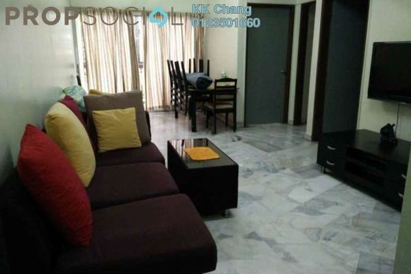 For Rent Apartment at Sri Anggerik 2, Bandar Kinrara Freehold Fully Furnished 3R/2B 1.1k