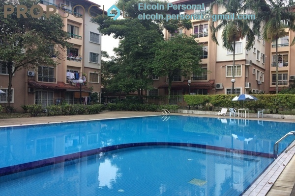 For Rent Condominium at Vista Tasik, Bandar Sri Permaisuri Freehold Semi Furnished 3R/2B 1.4k