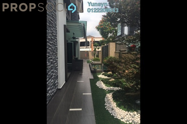 For Sale Semi-Detached at Villa Manja, Bandar Menjalara Freehold Fully Furnished 5R/5B 3.6m