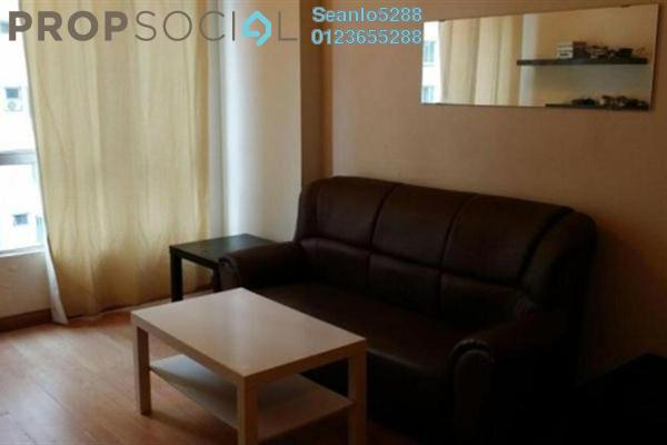 For Rent Apartment at e-Tiara, Subang Jaya Freehold Semi Furnished 2R/2B 2.2k