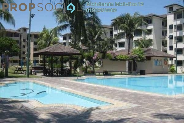 For Rent Apartment at Sunway Court, Bandar Sunway Leasehold Fully Furnished 4R/2B 1.8k