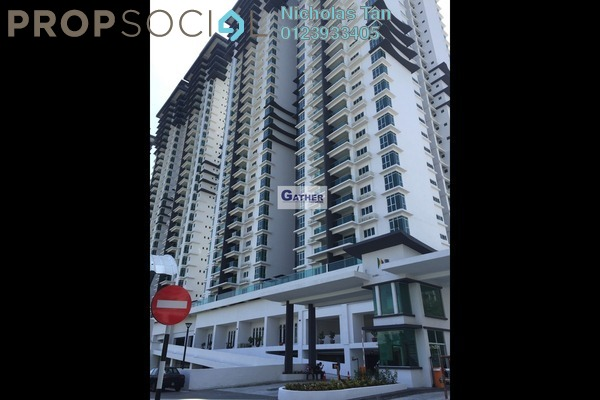 For Rent Condominium at Kiara Residence 2, Bukit Jalil Leasehold Semi Furnished 3R/2B 1.6k
