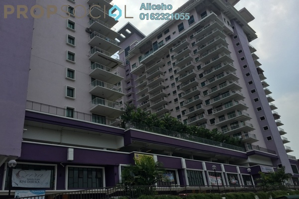 For Rent Condominium at Indah Alam, Shah Alam Freehold Fully Furnished 4R/2B 2k