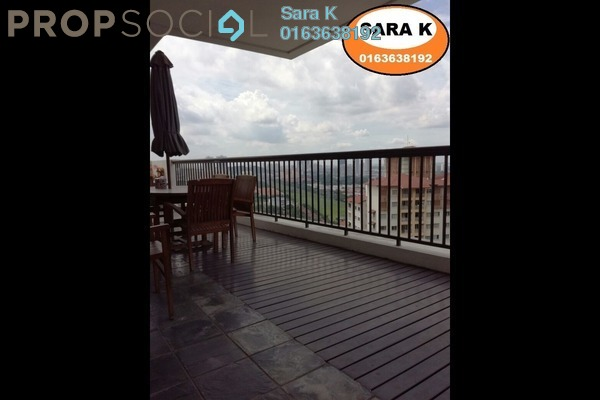 For Sale Duplex at Armanee Terrace I, Damansara Perdana Leasehold Semi Furnished 4R/4B 1.19m