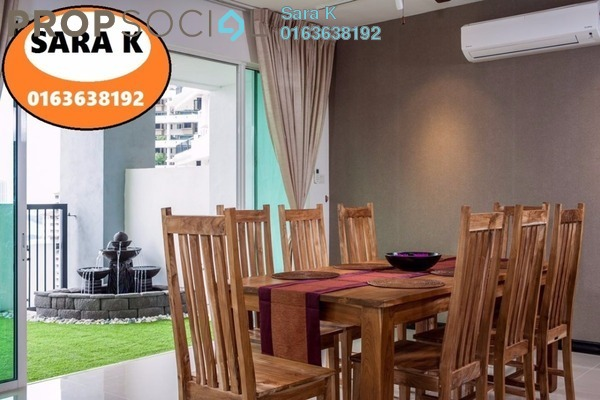 For Rent Duplex at Armanee Terrace II, Damansara Perdana Leasehold Fully Furnished 4R/4B 5.8k