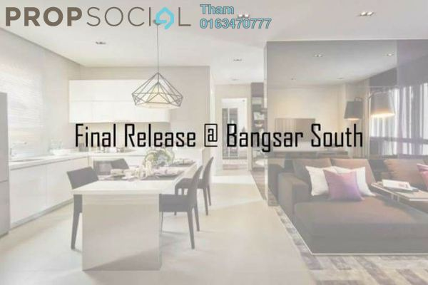 For Sale Condominium at The Park Residences, Bangsar South Leasehold Semi Furnished 1R/1B 678k
