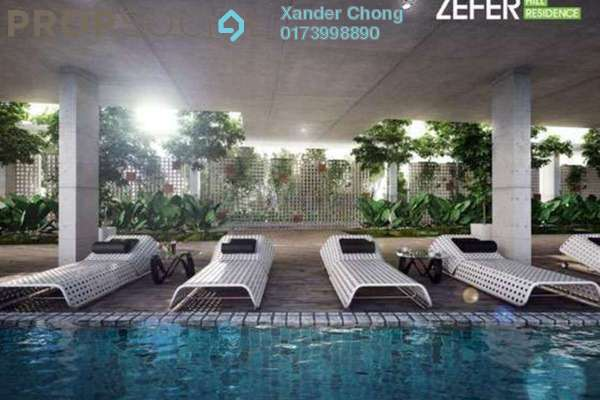 For Sale Condominium at Zefer Hill Residence, Bandar Puchong Jaya Freehold Unfurnished 4R/3B 620k