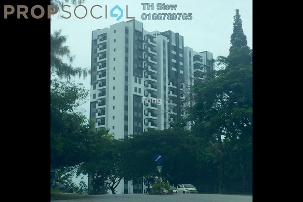 For Rent Condominium at Sierramas Heights, Sungai Buloh Freehold Semi Furnished 3R/2B 3.5k