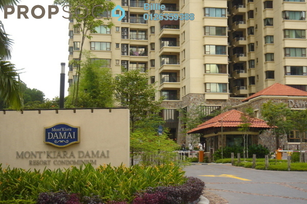 For Sale Condominium at Mont Kiara Damai, Mont Kiara Freehold Semi Furnished 3R/3B 1.53m