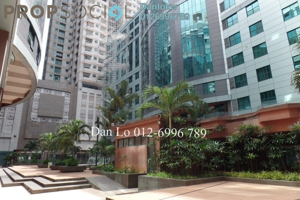 For Sale Office at Megan Avenue 1, KLCC Freehold Semi Furnished 3R/2B 950k