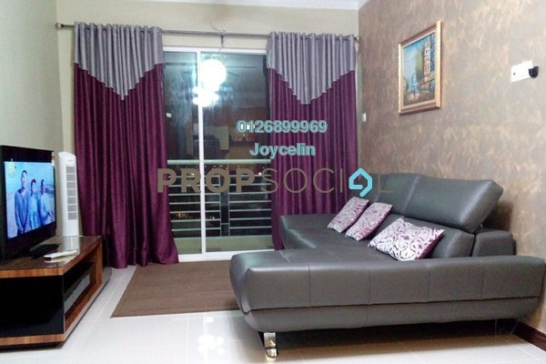 For Sale Condominium at Panorama Residences, Sentul Freehold Fully Furnished 3R/2B 550k