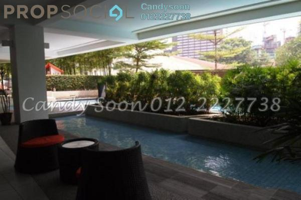 For Sale Condominium at Idaman Residence, KLCC Freehold Semi Furnished 3R/5B 1.7百万