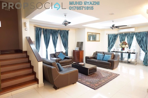 For Sale Superlink at SD11, Bandar Sri Damansara Freehold Semi Furnished 6R/4B 1.9m