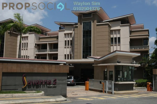 For Rent Condominium at Savanna 2, Bukit Jalil Freehold Fully Furnished 4R/3B 4k