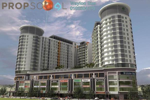 For Sale Condominium at Tiara Mutiara, Old Klang Road Freehold Semi Furnished 4R/3B 636k