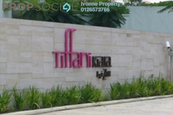 For Rent Condominium at Tiffani Kiara, Mont Kiara Freehold Fully Furnished 1R/1B 3k