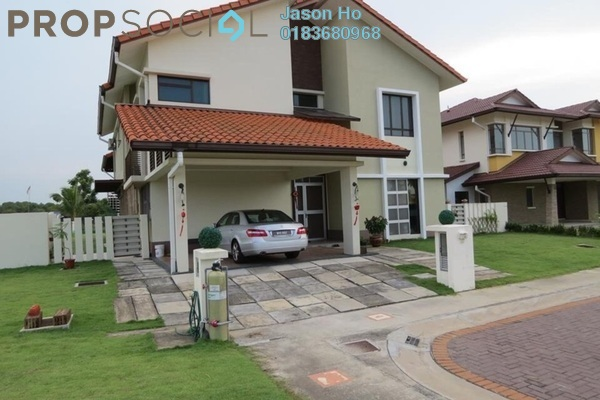 For Sale Bungalow at Glenmarie Cove, Port Klang Freehold Semi Furnished 5R/6B 3m