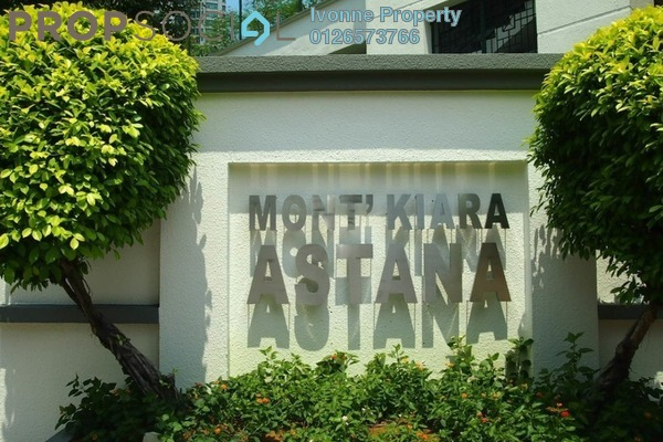 For Rent Condominium at Mont Kiara Astana, Mont Kiara Freehold Fully Furnished 3R/3B 4.5k