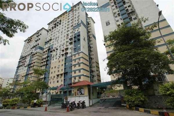 For Rent Apartment at Vista Serdang Apartment, Seri Kembangan Freehold Semi Furnished 3R/2B 1k