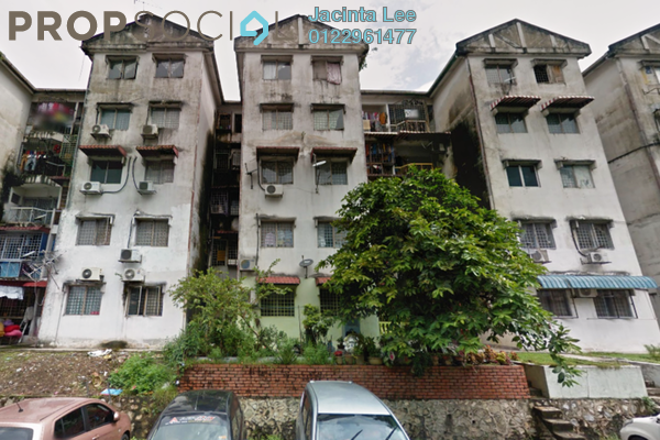 For Sale Apartment at Taman Indah Perdana, Kepong Leasehold Unfurnished 3R/2B 170k
