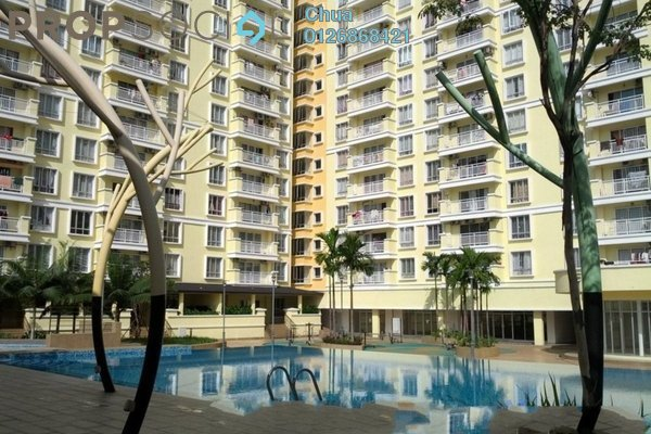 For Rent Condominium at Platinum Lake PV12, Setapak Leasehold Unfurnished 3R/2B 1.5k