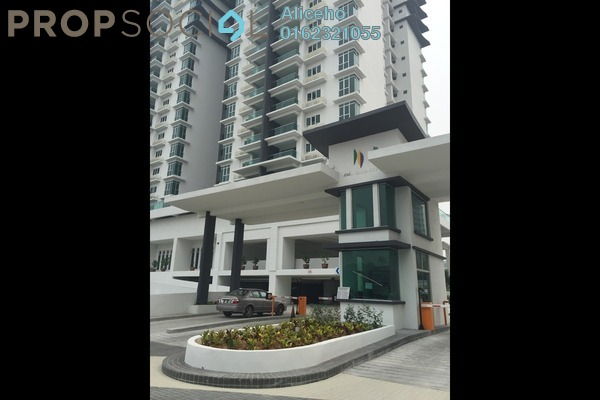 For Sale Condominium at Kiara Residence 2, Bukit Jalil Leasehold Semi Furnished 3R/2B 580k