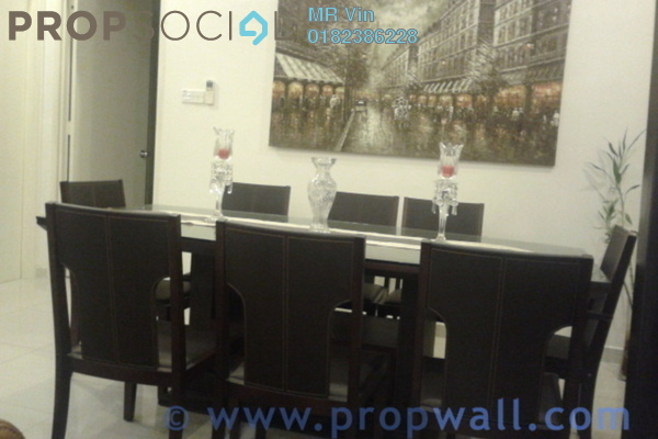 For Rent Condominium at The Saffron, Sentul Freehold Fully Furnished 3R/2B 2.4千
