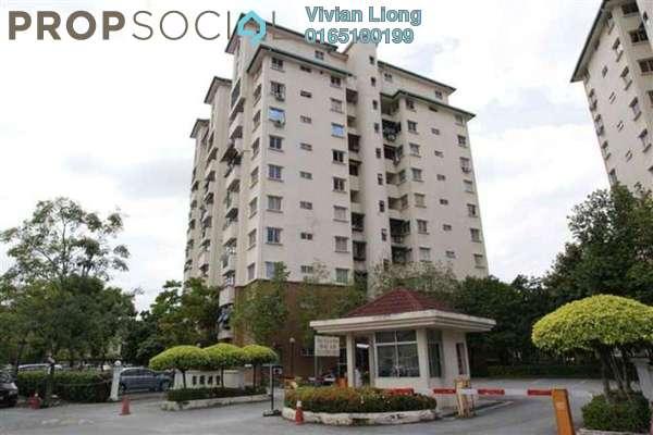 For Rent Condominium at Casa Villa, Kajang Freehold Semi Furnished 3R/2B 1.4k