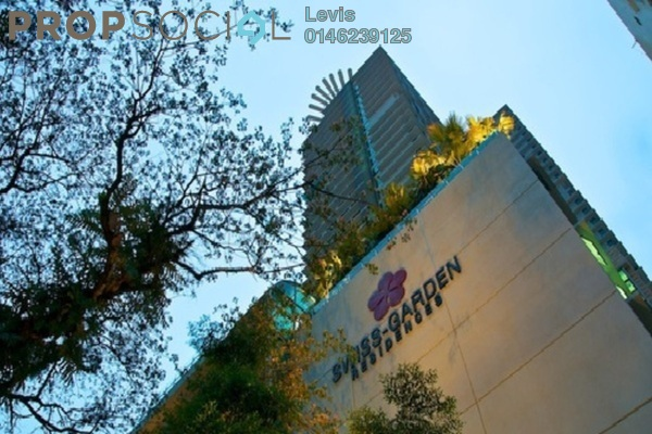 For Rent Condominium at Swiss Garden Residences, Pudu Freehold Fully Furnished 2R/2B 2.5k