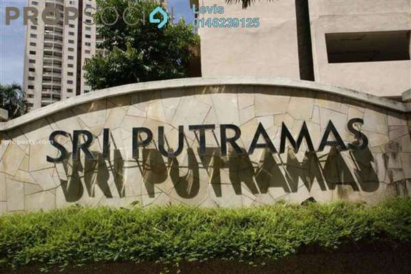 For Rent Condominium at Sri Putramas I, Dutamas Freehold Fully Furnished 3R/2B 1.4k