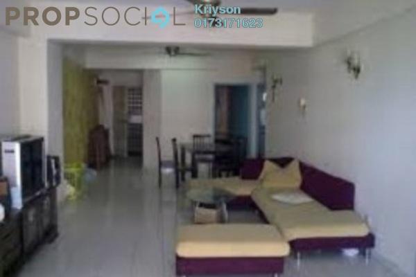 For Rent Condominium at Endah Ria, Sri Petaling Leasehold Fully Furnished 4R/4B 4k