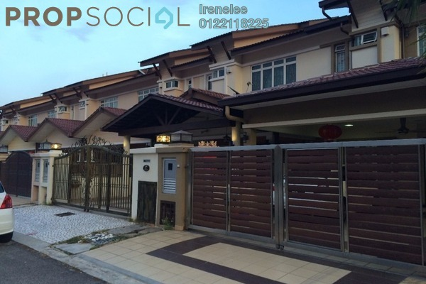 For Rent Terrace at Seri Sungai Long, Bandar Sungai Long Freehold Semi Furnished 4R/3B 1.6k