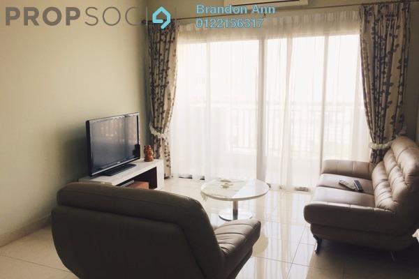 For Sale Condominium at Pelangi Utama, Bandar Utama Leasehold Semi Furnished 3R/2B 700k