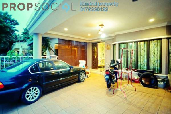 For Sale Terrace at Jelutong Heights, Bukit Jelutong Freehold Semi Furnished 4R/4B 1m