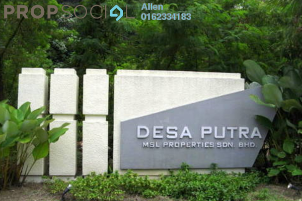 For Rent Condominium at Desa Putra, Wangsa Maju Leasehold Semi Furnished 3R/2B 2.2k