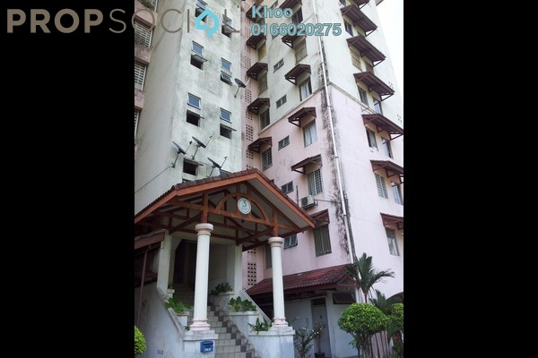 For Sale Condominium at Ixora Apartment, Pudu Leasehold Unfurnished 3R/2B 360k