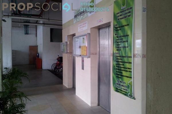 For Sale Condominium at Aliran Damai, Cheras South Freehold Semi Furnished 3R/2B 348k