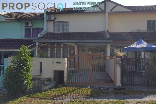 For Sale Terrace at Taman Seri Cheras, Cheras South Freehold Semi Furnished 3R/2B 400k
